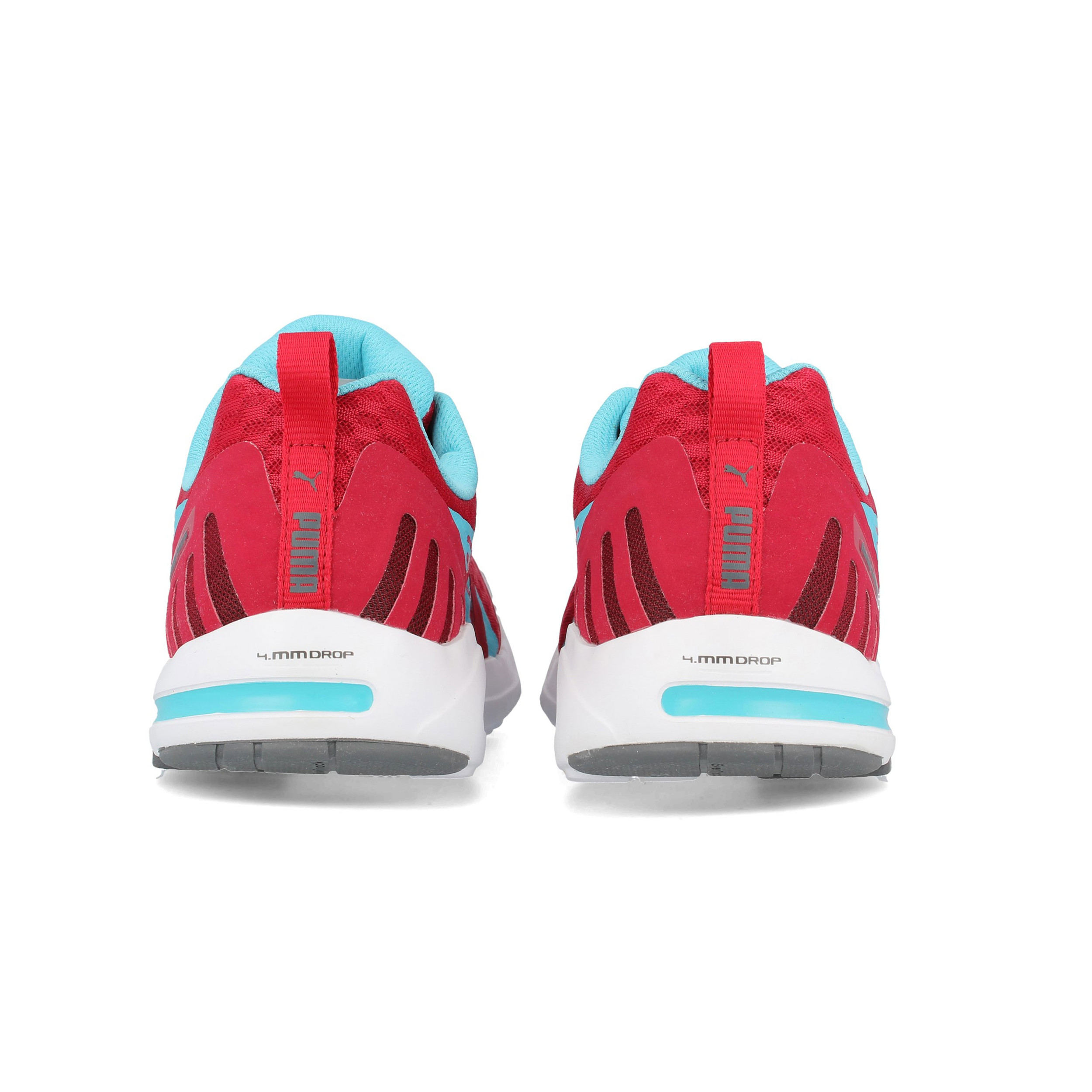 0d901cd8d2f Puma Mens Faas 300 S Running Shoes Trainers Sneakers Red Sports Breathable