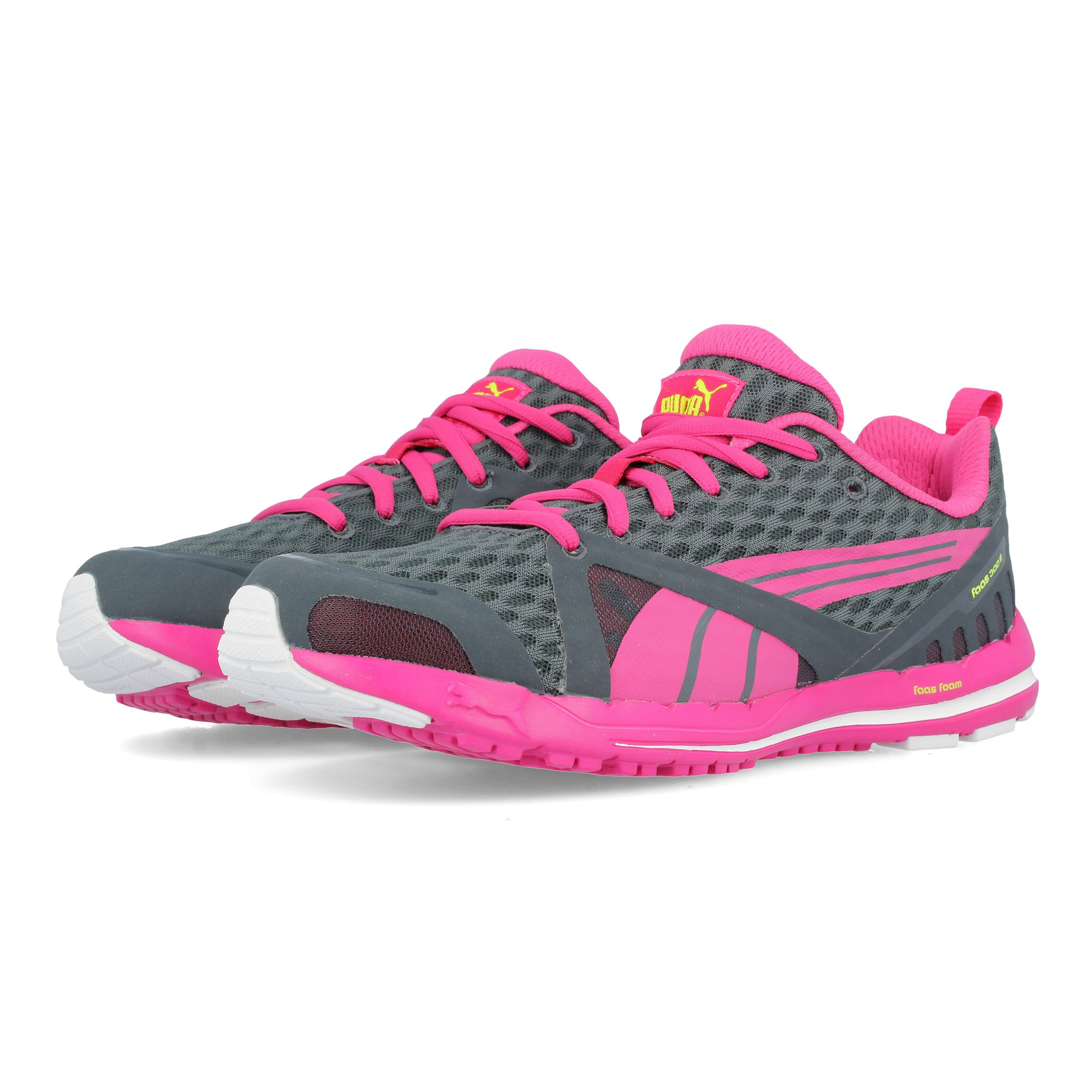 f3f1895c23935e Puma Damen Faas 300 Sport Schuhe Jogging Turnschuhe Laufschuhe Sneaker Grau