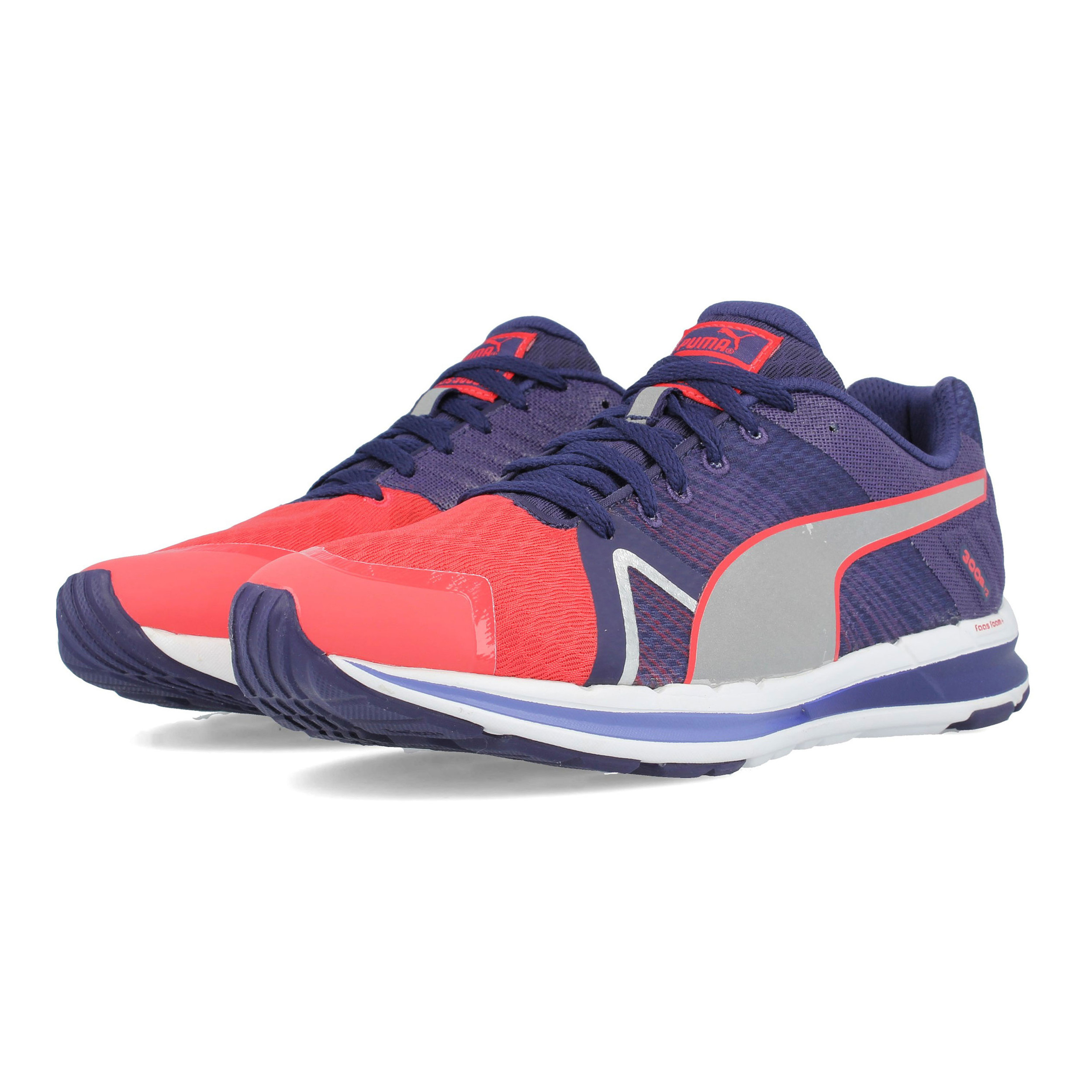 007b13fb8187 Details about Puma Womens Faas 300 S v2 Running Shoes Trainers Sneakers  Pink Purple