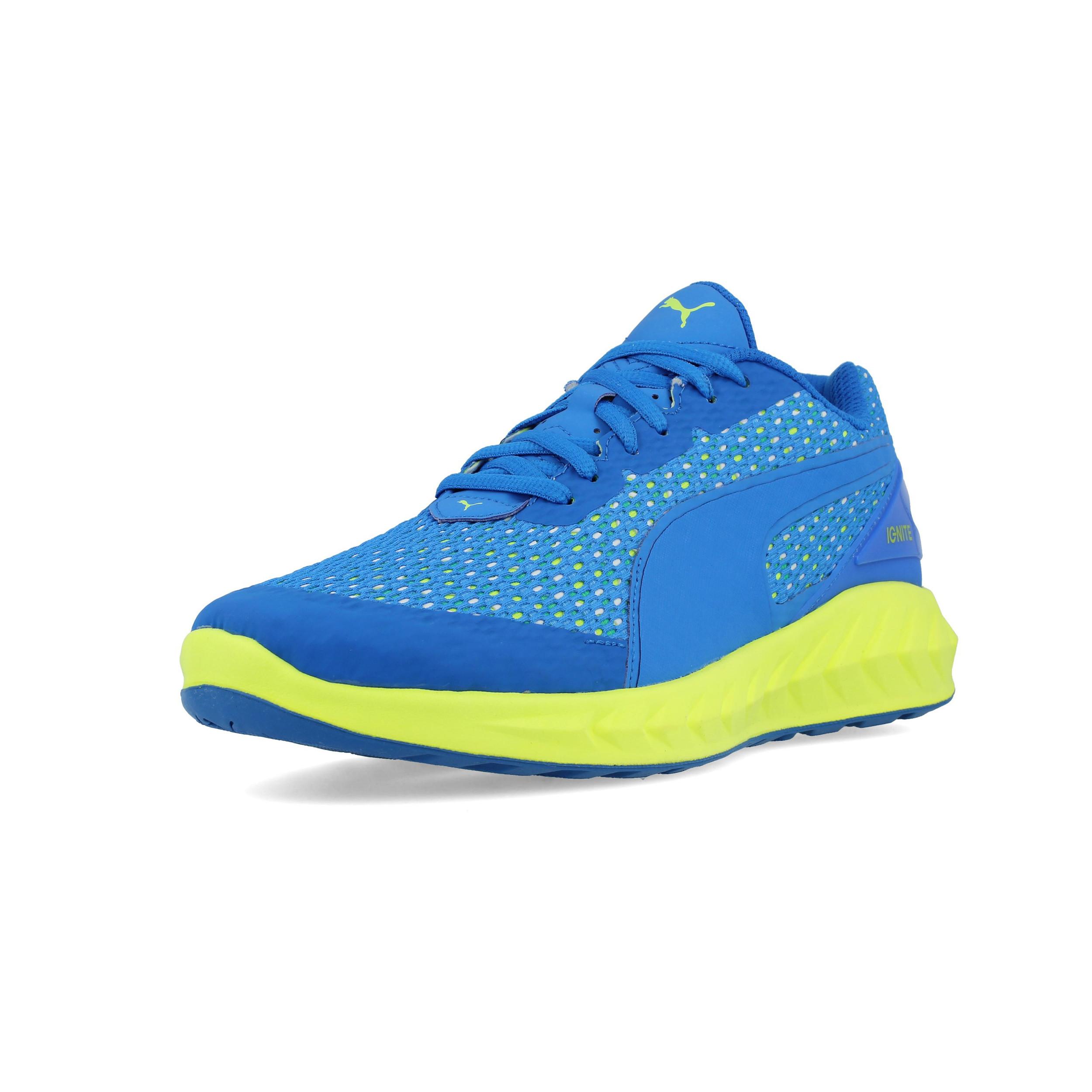 PUMA Uomo Ignite Ultimate Layered Scarpe Da Corsa Ginnastica Sport Sneakers  Blu ef363acce86