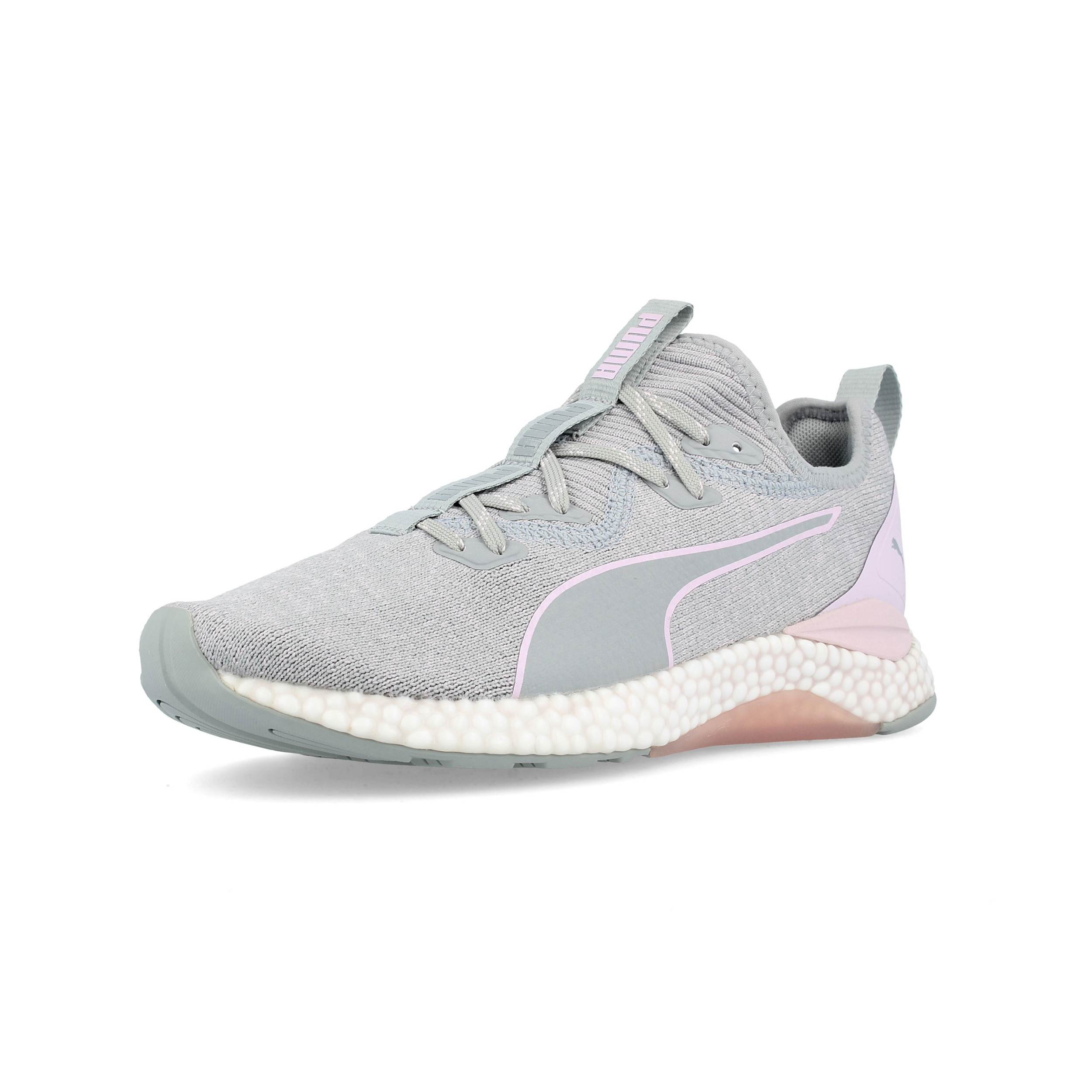 eafdc2eba726 Puma Womens Hybrid Runner Running Shoes Trainers Sneakers Grey Sports  Breathable