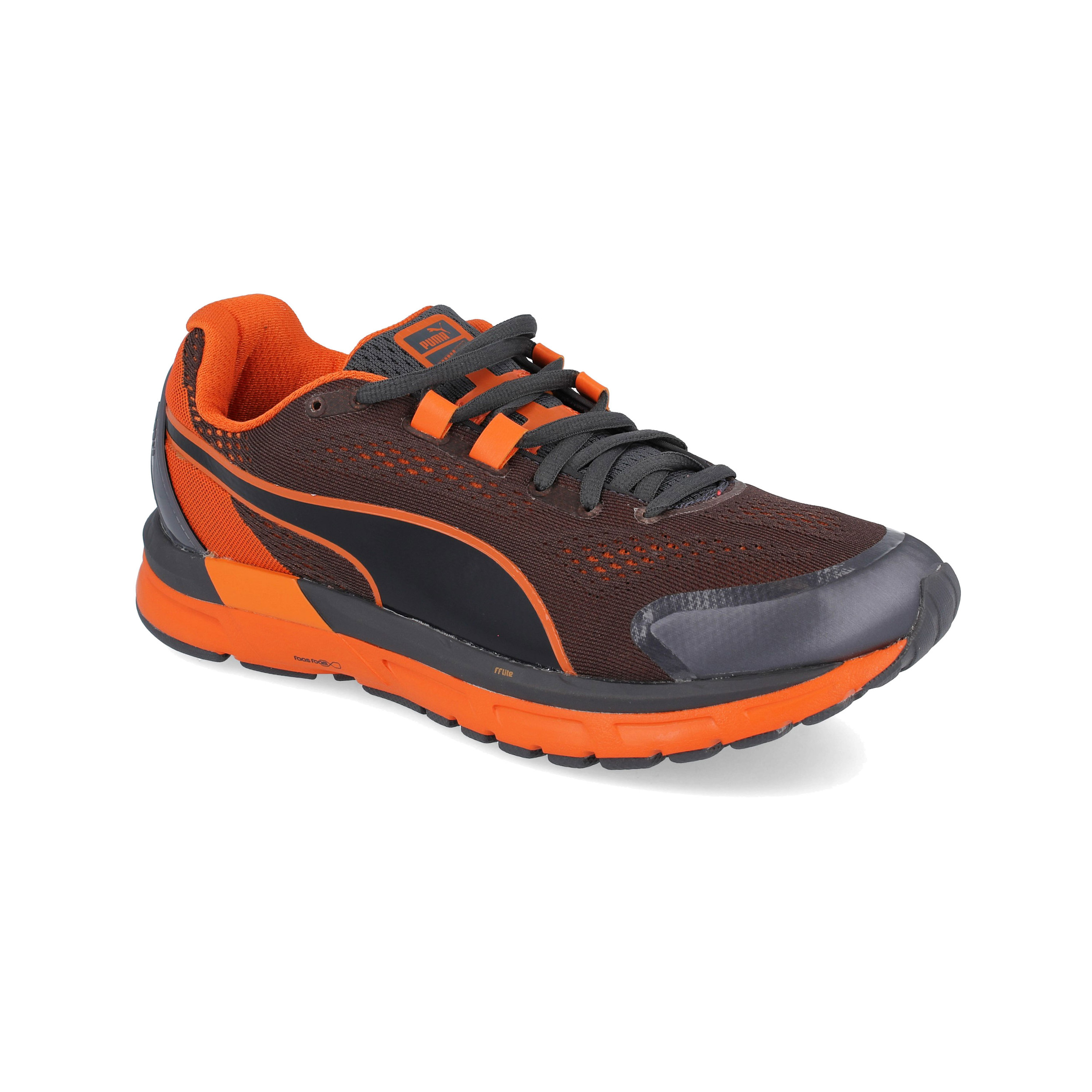 2f263ff5ffa Puma Mens Faas 600 S v2 Running Shoes Trainers Sneakers Black Orange Sports