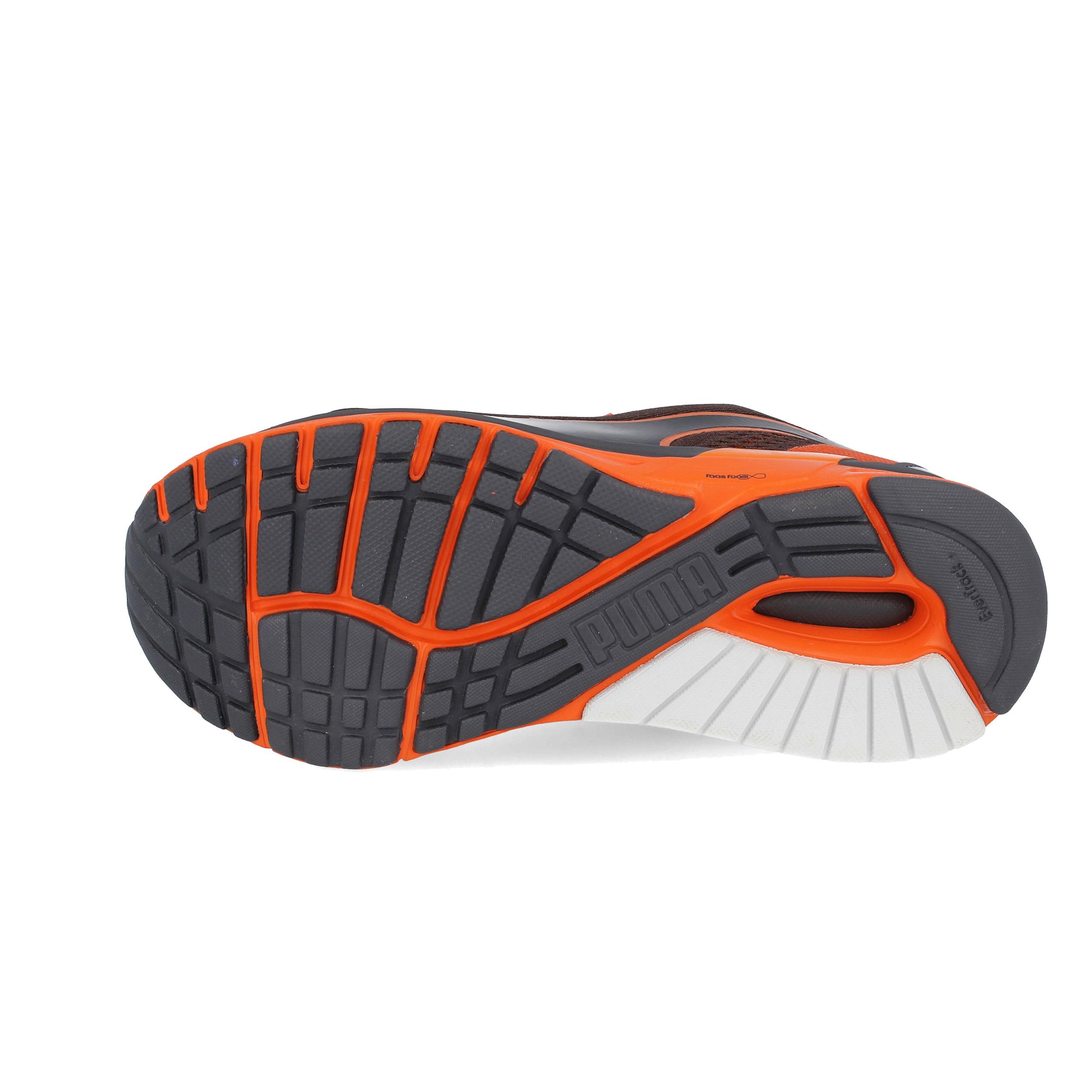 2f263ff5ffa Puma Mens Faas 600 S v2 Running Shoes Trainers Sneakers Black Orange Sports