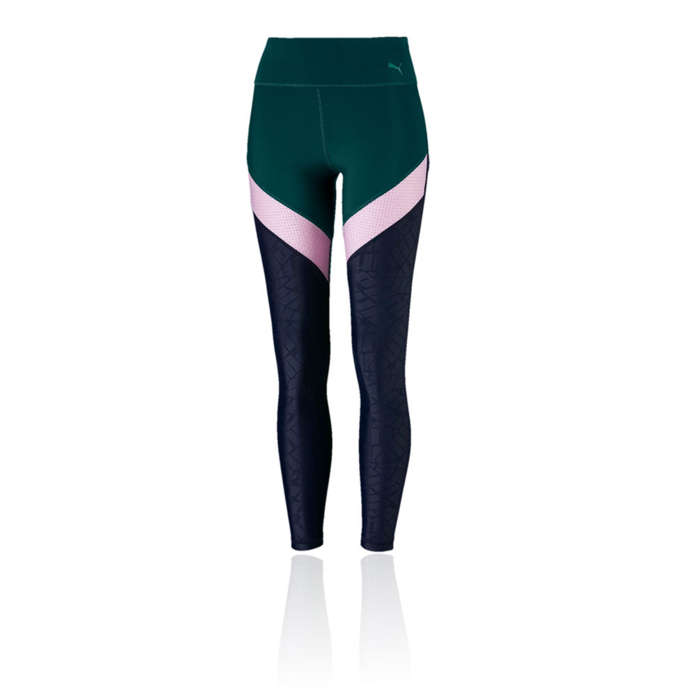 more photos classic styles superior quality Details about Puma Womens Show Off Tight Green Navy Blue Pink Sports Gym  Breathable Pockets