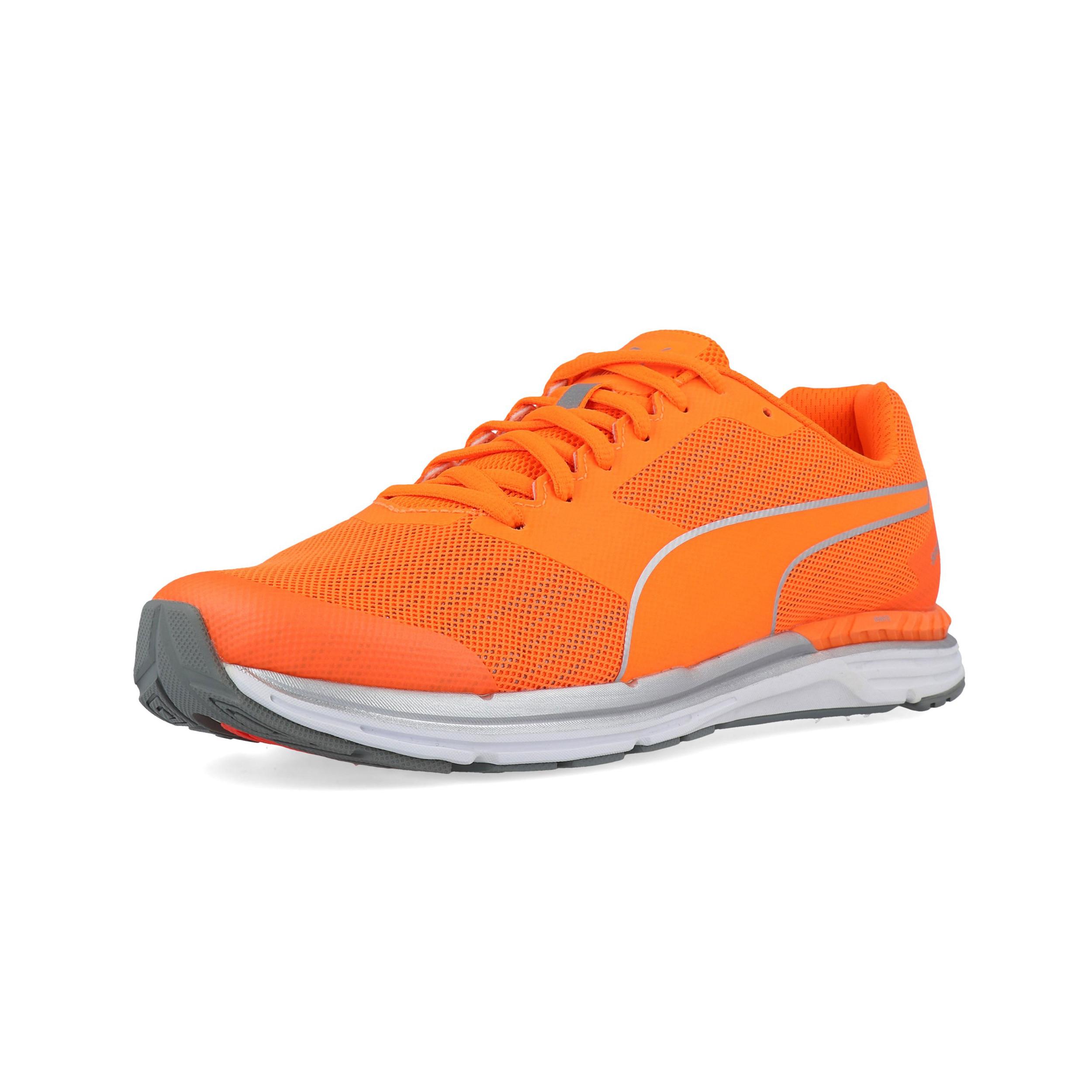 Détails sur Puma Hommes Speed 300 Ignite Nightcat Chaussures De Course À Pied Baskets Orange