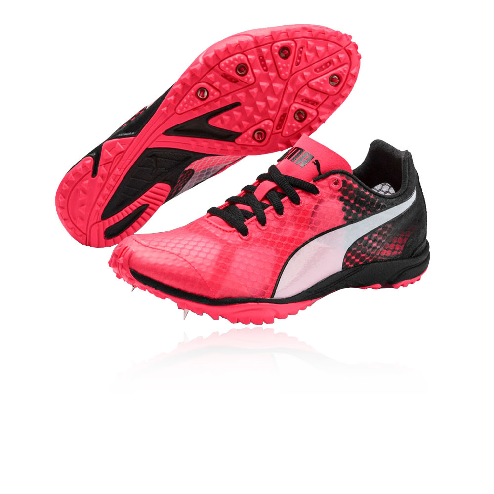 Details about Puma Mens evoSPEED Haraka 6 Unisex Running Spikes Traction -  Pink Sports