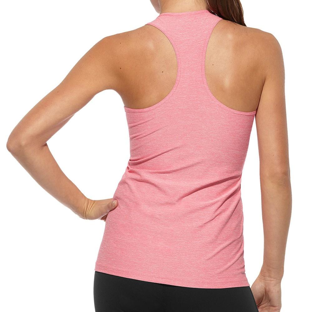 Reebok lady fitness delta racer back tank top vest for Lady fitness