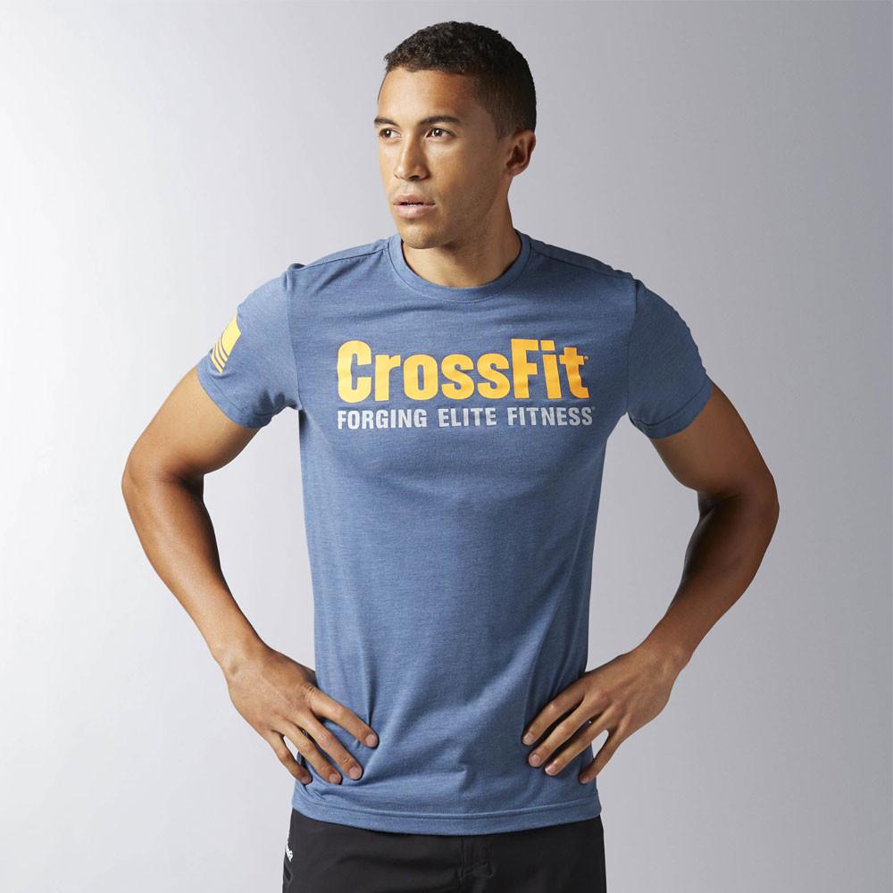 Reebok crossfit forging elite fitness t shirt ss17 for Reebok crossfit t shirts