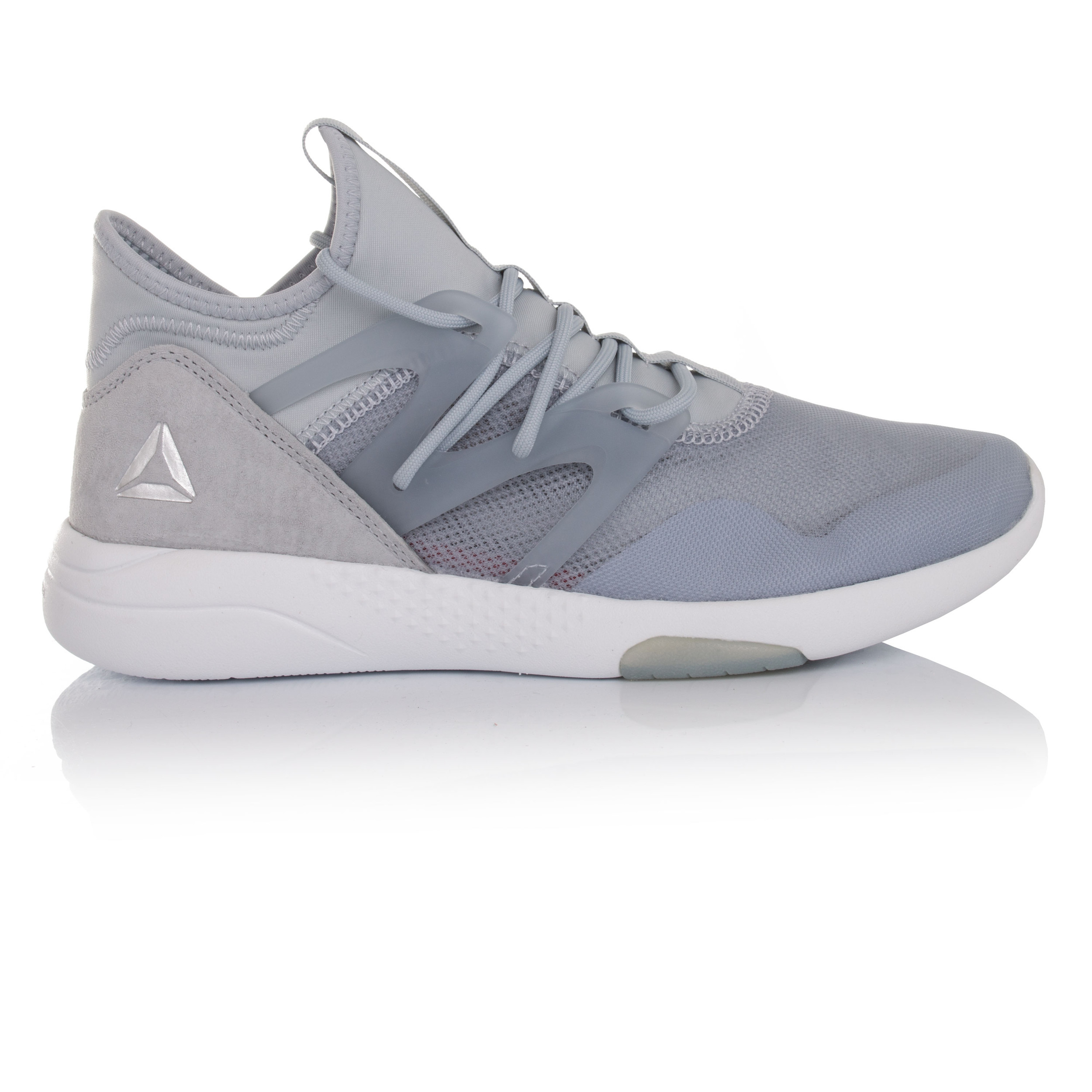 Reebok Hayasu Womens Grey Dance Training Sports Shoes Trainers Pumps