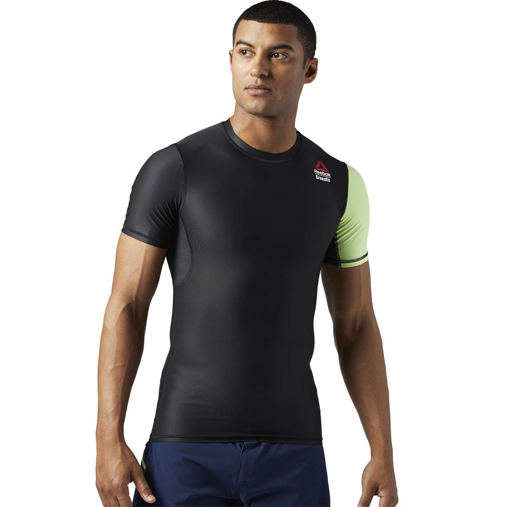reebok crossfit games compression t shirt aw17. Black Bedroom Furniture Sets. Home Design Ideas