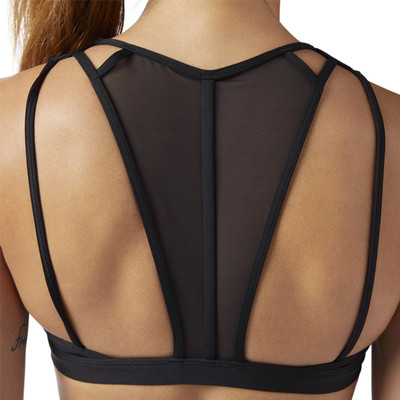 Reebok Womens Franchise Strappy Bra - SS19