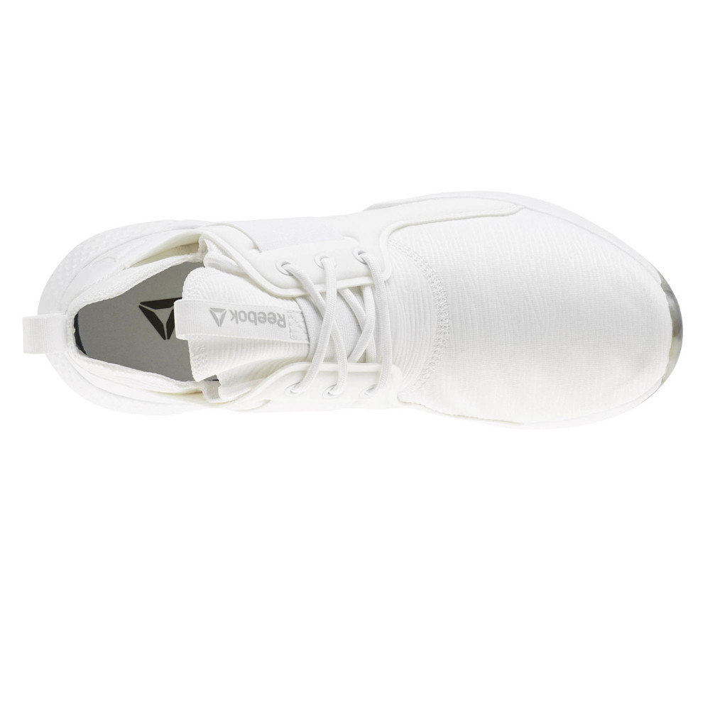 Detalles de Reebok Mujer Guresu 1.0 Studio Zapatos Blanco Deporte Gimnasio Transpirable Peso