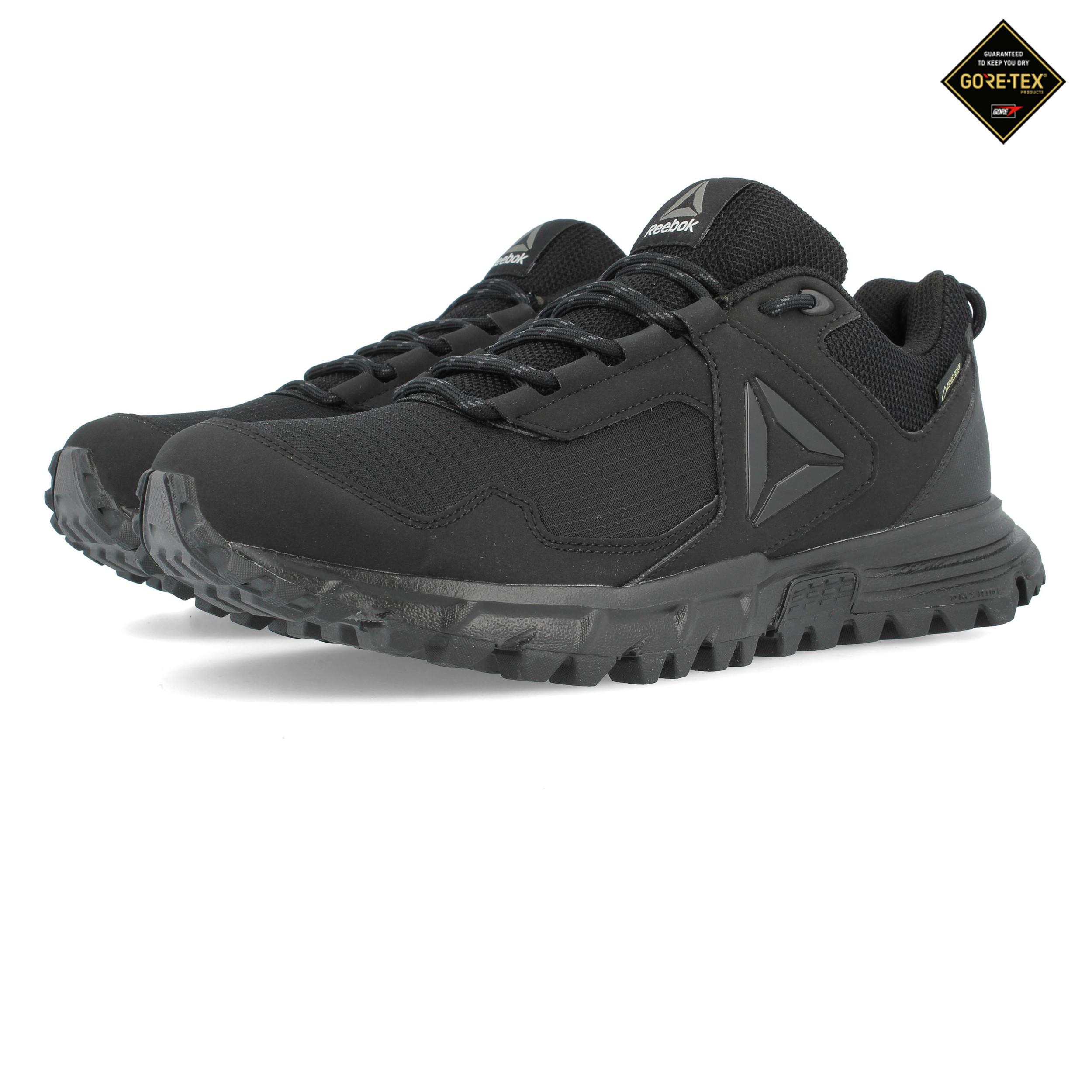 4772cf454185c Reebok Mens Sawcut 5.0 GORE-TEX Walking Shoe Black Sports Outdoors Trainers