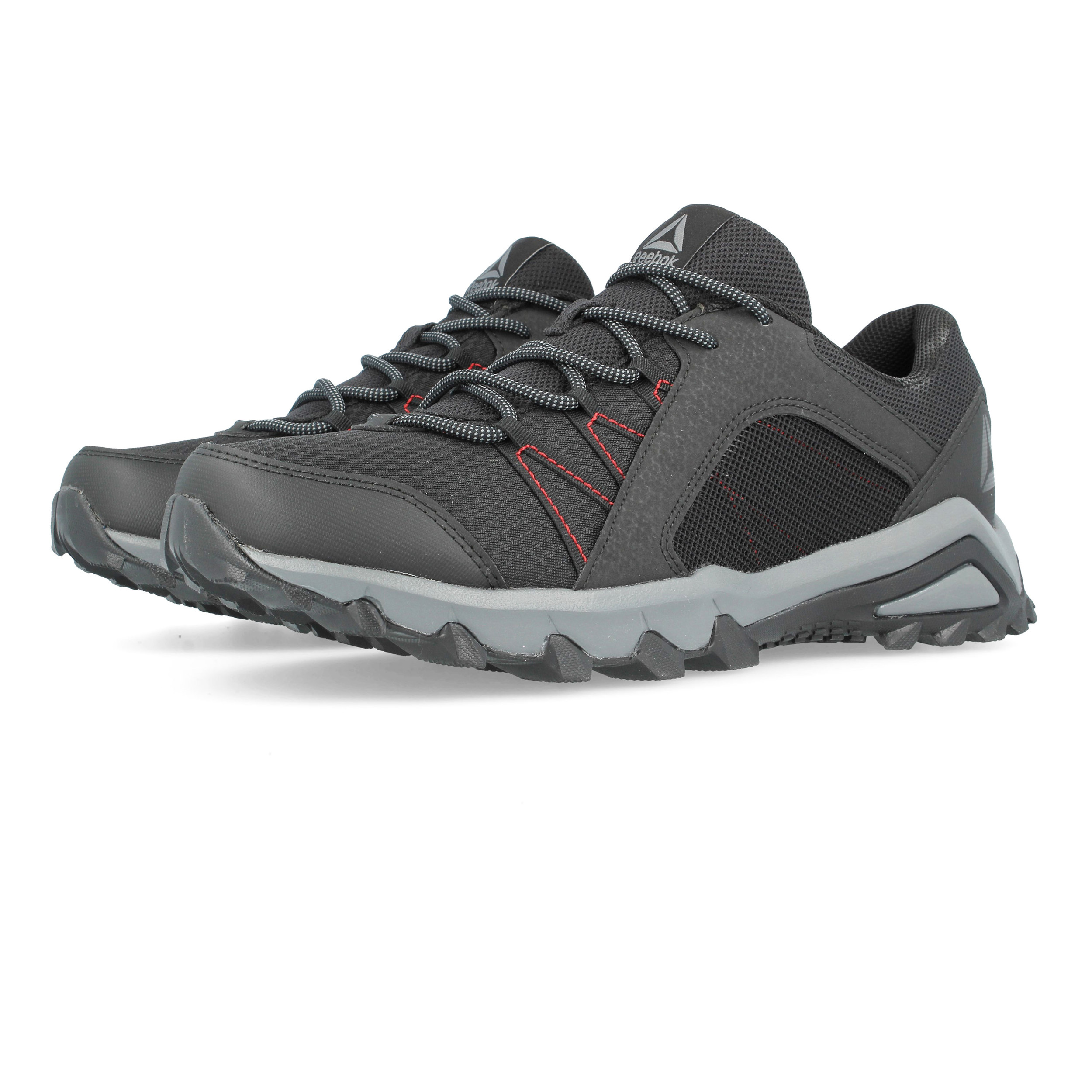 Details about Reebok Mens TrailGrip 6.0 Hiking Shoes Black Sports Outdoors  Breathable 69a1701ae