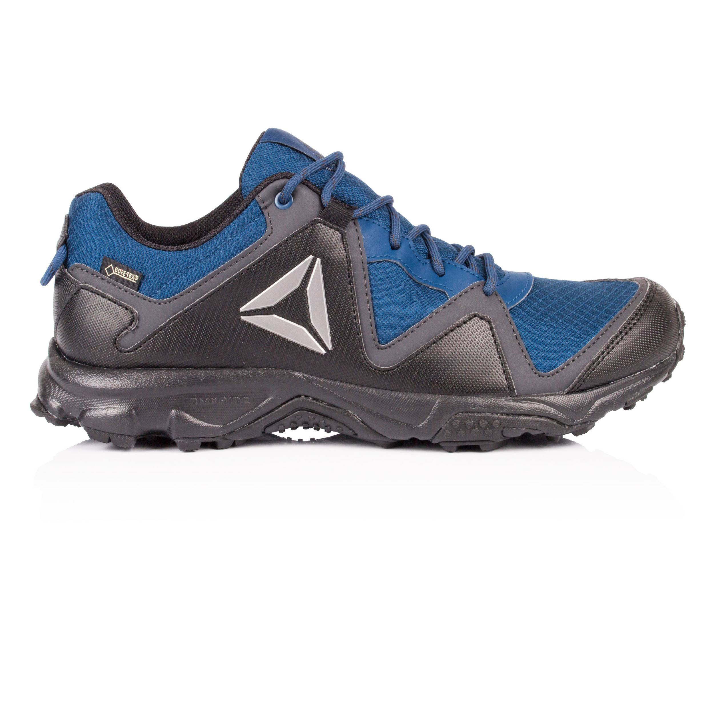 815029bcc57e Details about Reebok Mens Franconia Ridge 3.0 Gore-Tex Walking Shoes Black  Navy Blue Trainers