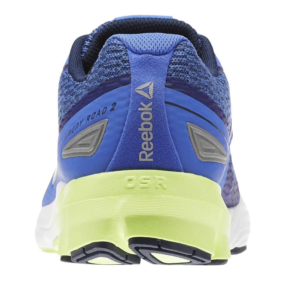 c6de69dd7 Reebok Mens Harmony Road 2 Running Shoes Trainers Sneakers Blue Sports