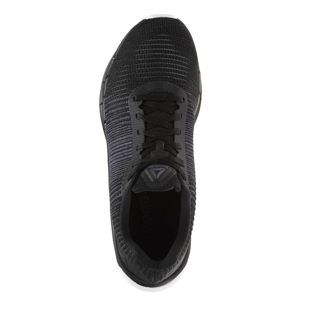 6736afad8ab8b4 Reebok Mens Fast Flexweave Running Shoes Trainers Sneakers Black Sports