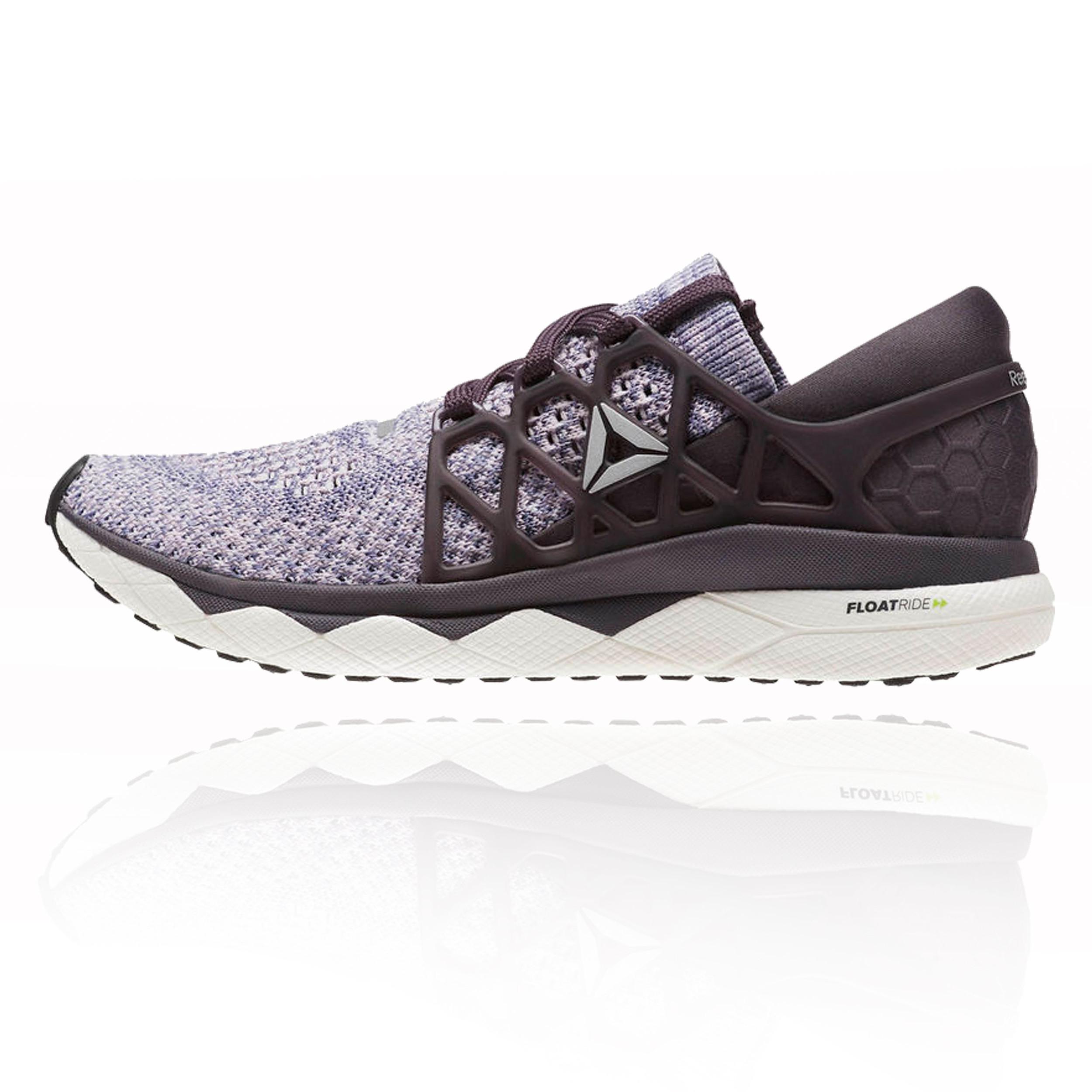 38f387dc942 Details about Reebok Womens Floatride Run Ultraknit Running Shoes Trainers Sneakers  Purple