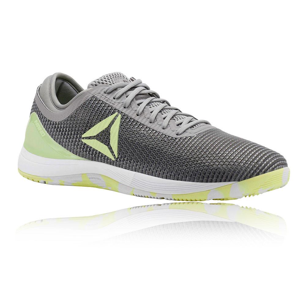 cdf98067444e Details about Reebok Mens CrossFit Nano 8.0 Flexweave Training Gym Fitness  Shoes Grey Sports