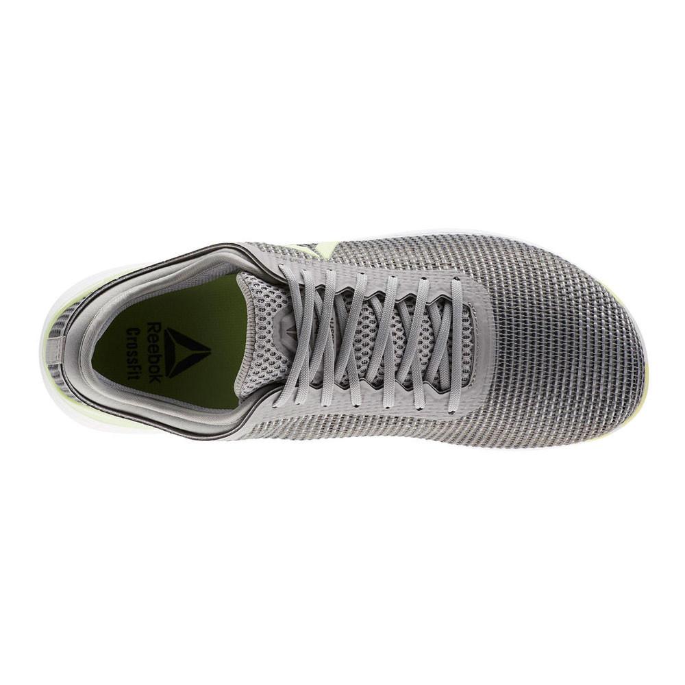7ea34e8cb594 Reebok Mens CrossFit Nano 8.0 Flexweave Training Gym Fitness Shoes Grey  Sports