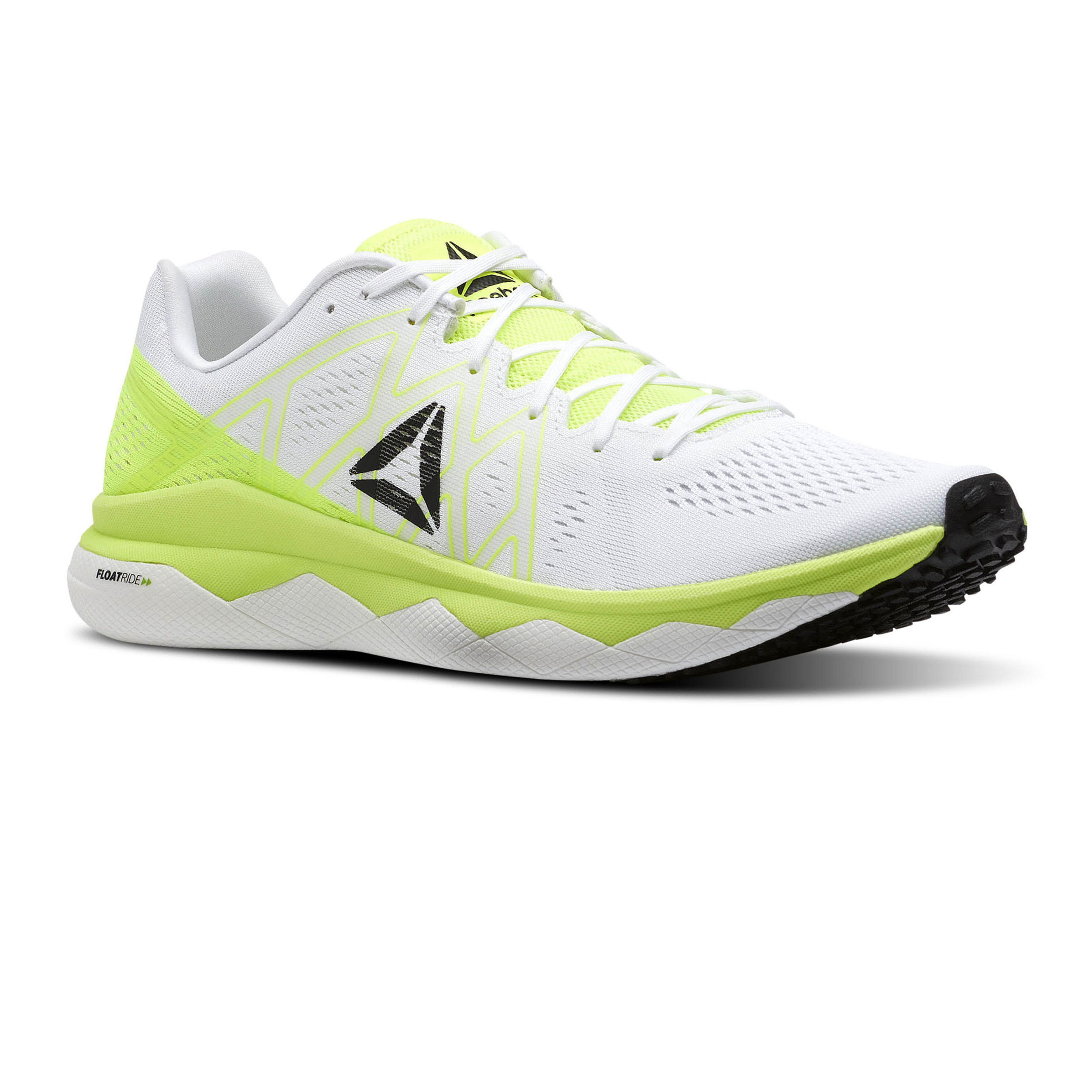 68dcc5d4ecc Details about Reebok Mens Floatride Run Fast Running Shoes Trainers Sneakers  White Yellow