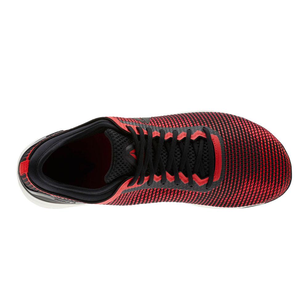 98fe19c2b635 Reebok Mens Crossfit Nano 8.0 Flexweave Training Gym Fitness Shoes Black Red