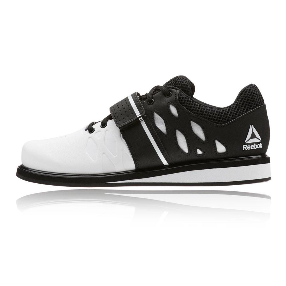 Entrenar Zapatilla Lifter Negro Reebok Blanco Deporte Detalles Gimnasio Hombre Zapatos De Pr c3Aq4jS5RL