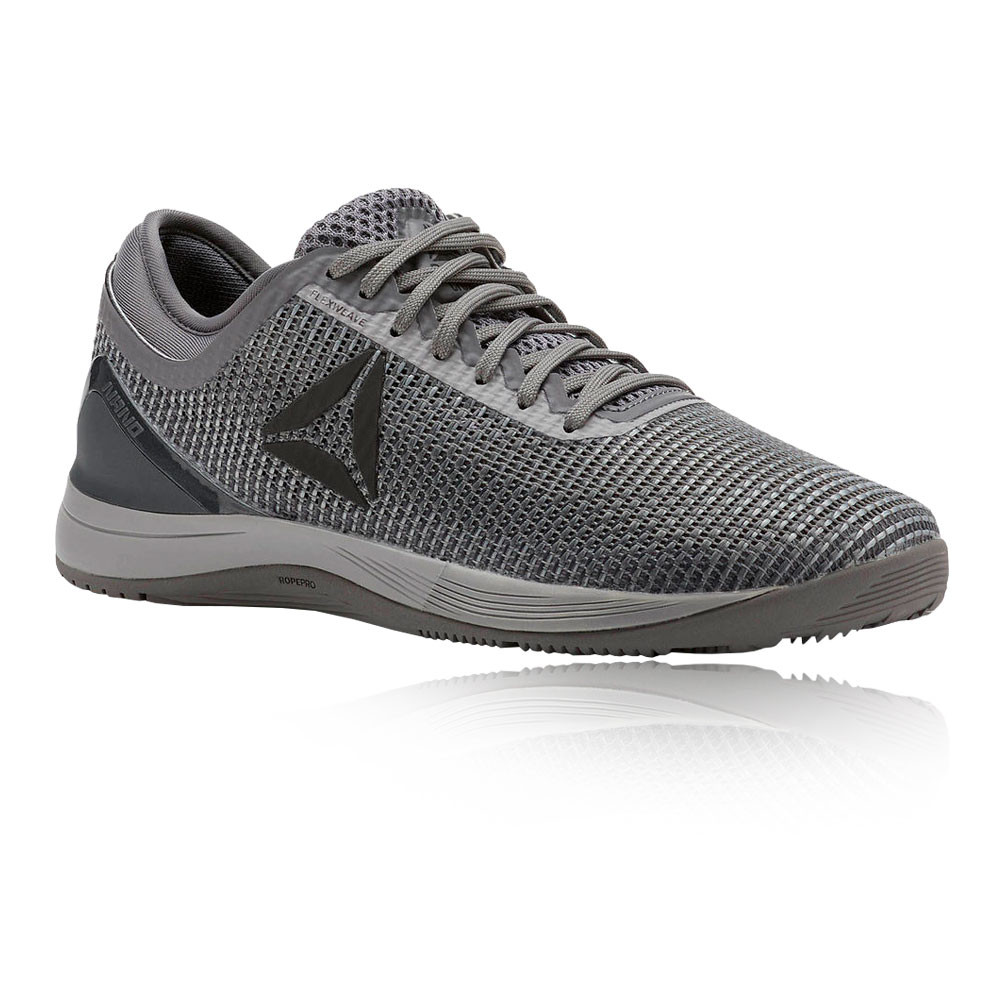 175ca008ca4 Reebok Womens Crossfit Nano 8.0 Flexweave Training Gym Shoes Grey Trainers