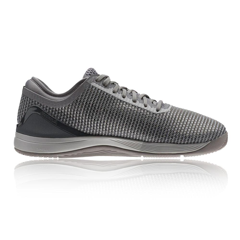 bf95f80049c Reebok Womens Crossfit Nano 8.0 Flexweave Training Gym Shoes Grey Trainers