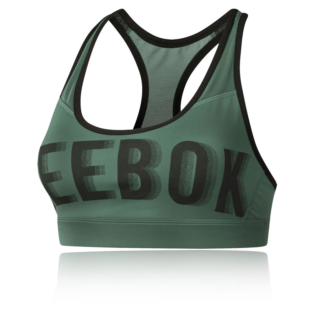 Reebok Hero Brand Read Bra