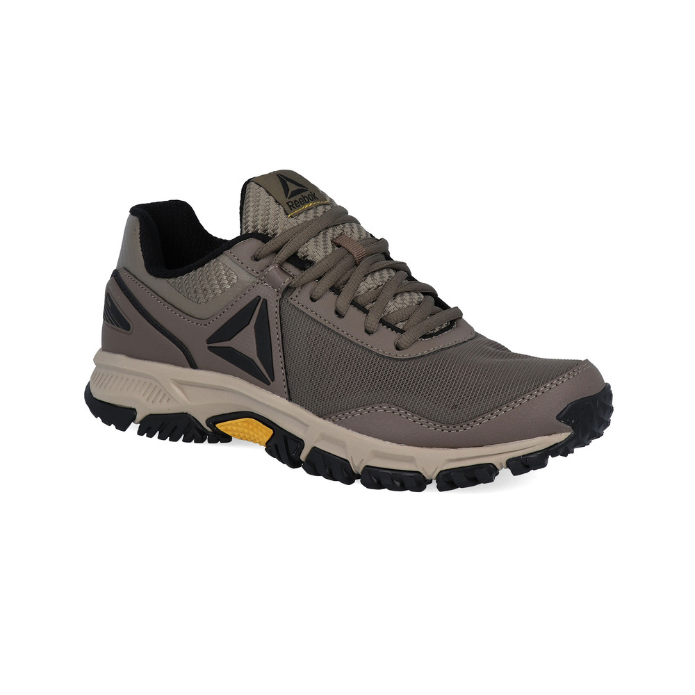 pretty nice 2feb5 e1a65 Details about Reebok Mens Ridgerider Trail 3 Walking Shoes Brown Green Grey  Sports Outdoors