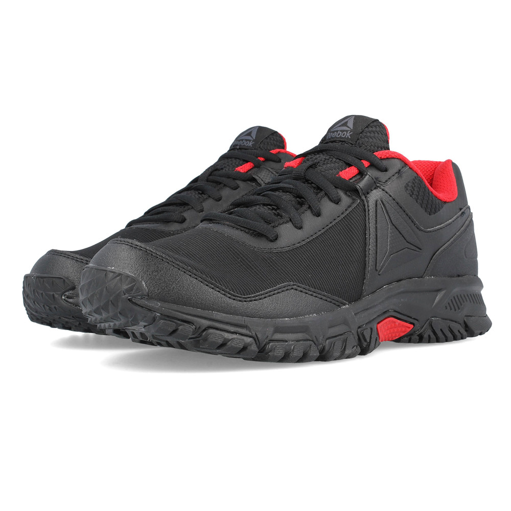 84fc9aee3a7 Details about Reebok Mens Ridgerider Trail 3 Walking Shoes Black Sports  Outdoors Breathable