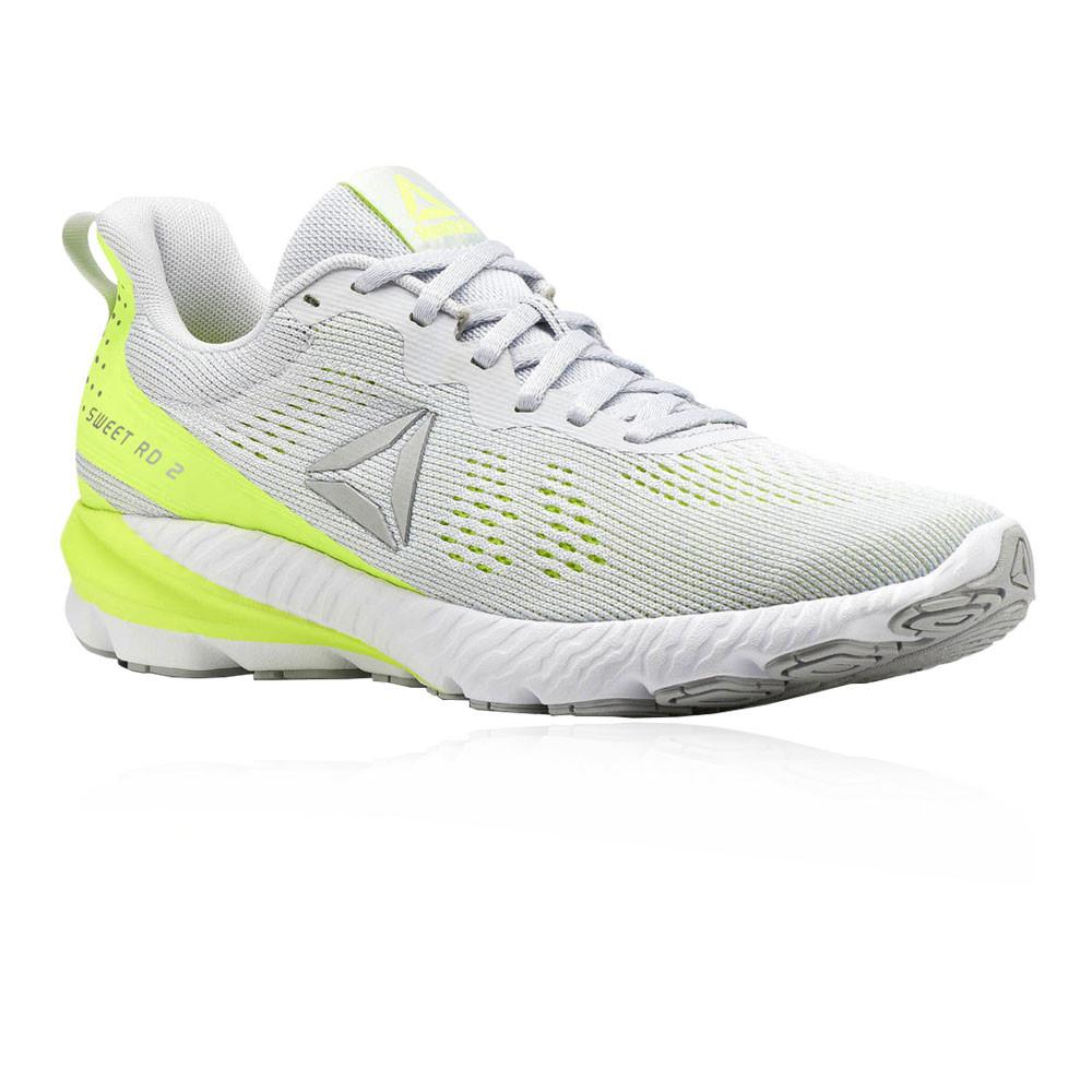 e48ebc77c57 Reebok Womens OSR Sweet Road 2 Running Shoes Trainers Sneakers Grey Sports