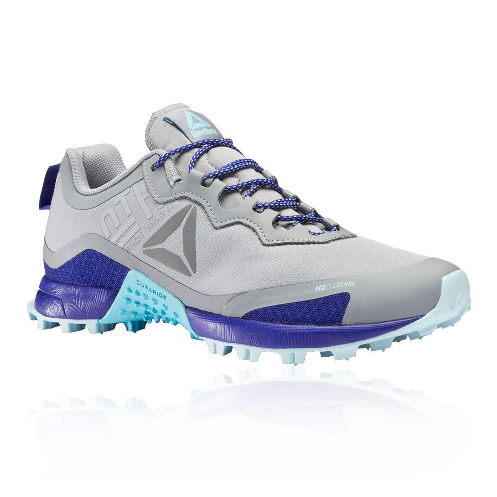 6719e99fd2f Details about Reebok Womens All Terrain Craze Trail Running Shoes Trainers  Sneakers Blue Grey