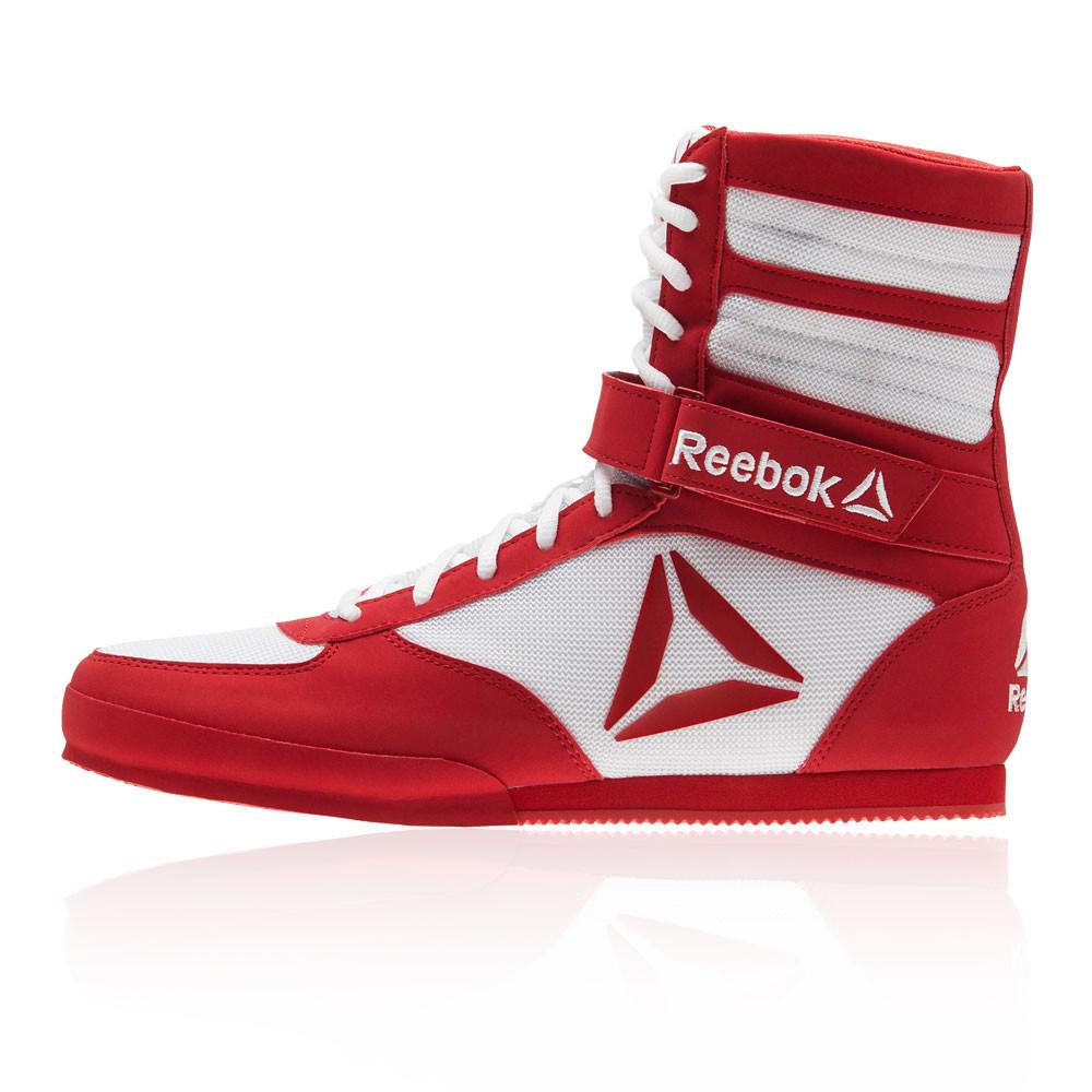 Sport Rouge Boxe Blanc Chaussures Hommes Reebok De Baskets Combat xfYqn8H