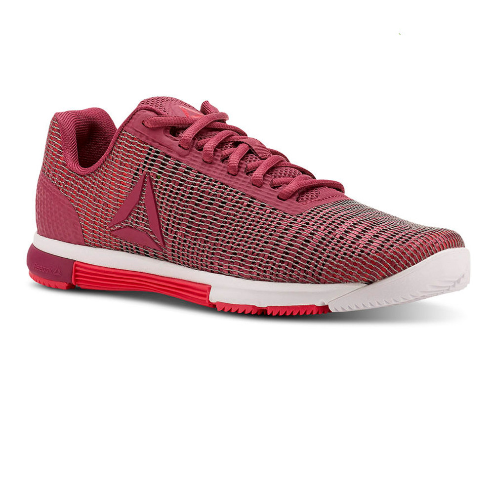 Reebok Damenschuhe Speed TR Flexweave Pink Training Gym Fitness Schuhes Pink Flexweave Sports 22b435