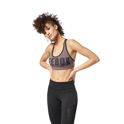Reebok Women's Hero Racer Brand Read Sports Bra