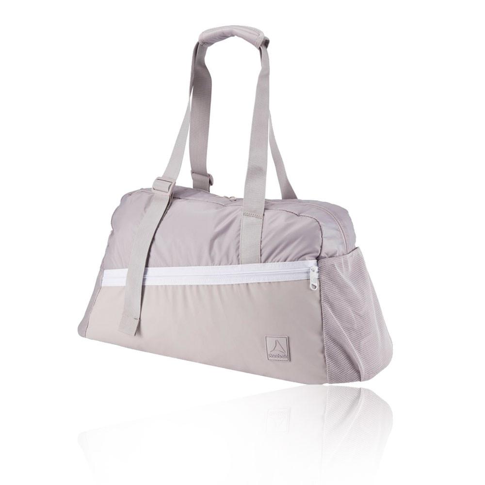 Details about Reebok Womens Enhanced Active Grip Training Gym Fitness Bag  Purple Sports 49d1122c05c93