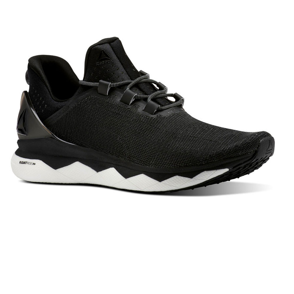 a6d58b2b8f5 Reebok Mens Floatride Run Smooth Running Shoes Trainers Sneakers Black  Sports