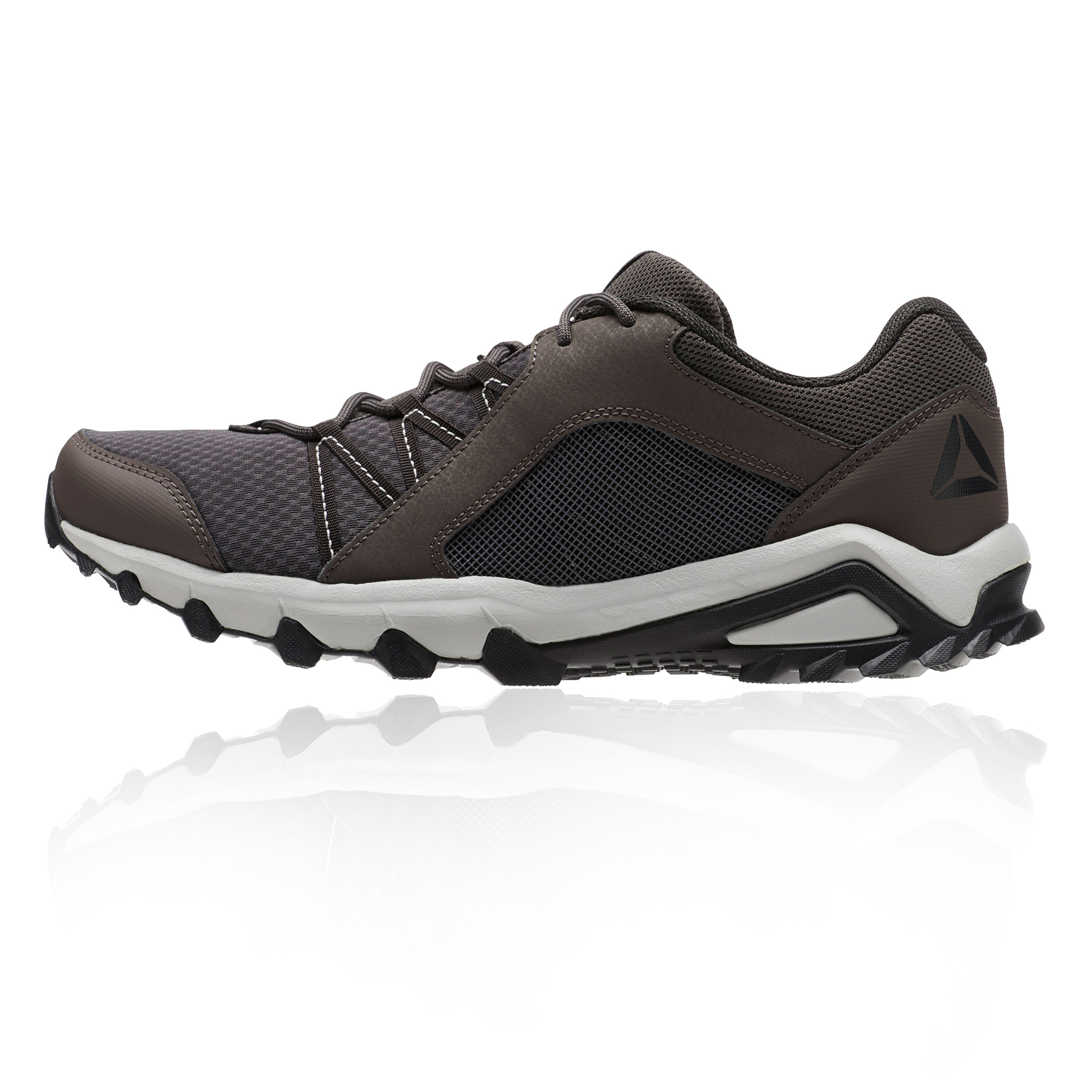 d9ea2a2bdecc Reebok Mens Trail Grip 6.0 Running Shoes Trainers Sneakers Brown Sports  Outdoors