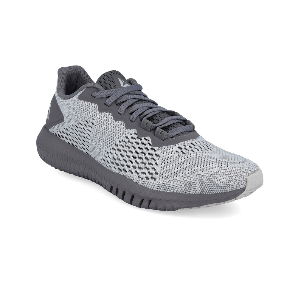 d0e74656dd5 Details about Reebok Mens Flexagon Training Gym Fitness Shoes Grey Sports  Breathable