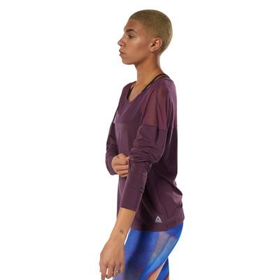 Reebok D Mesh Women's Long Sleeve Top - SS19