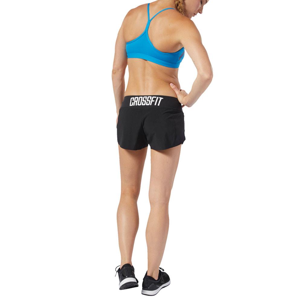 b04c79fc5f Reebok Womens RC Training Gym Fitness Shorts Pants Trousers Bottoms Black  Sports