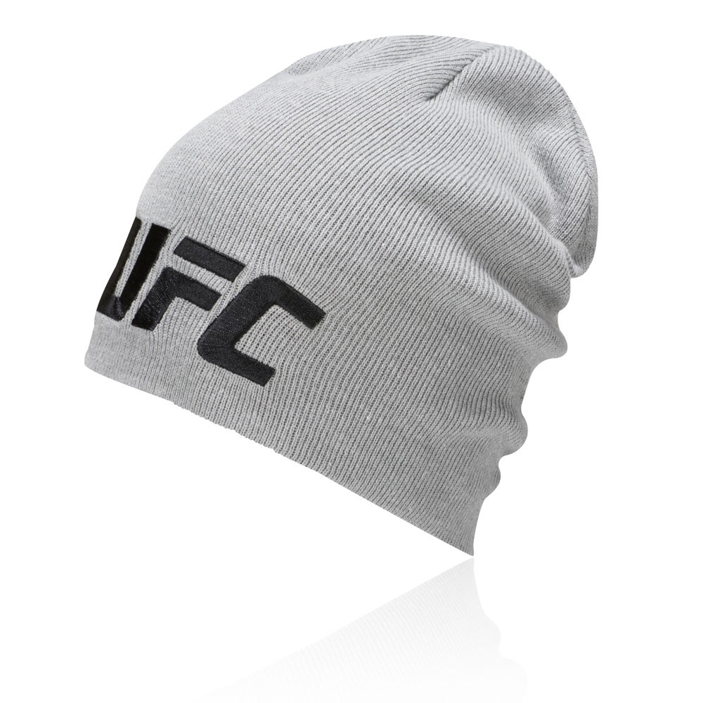 Details about Reebok Unisex UFC Beanie Grey Sports Outdoors Breathable  Lightweight c630e9451a94