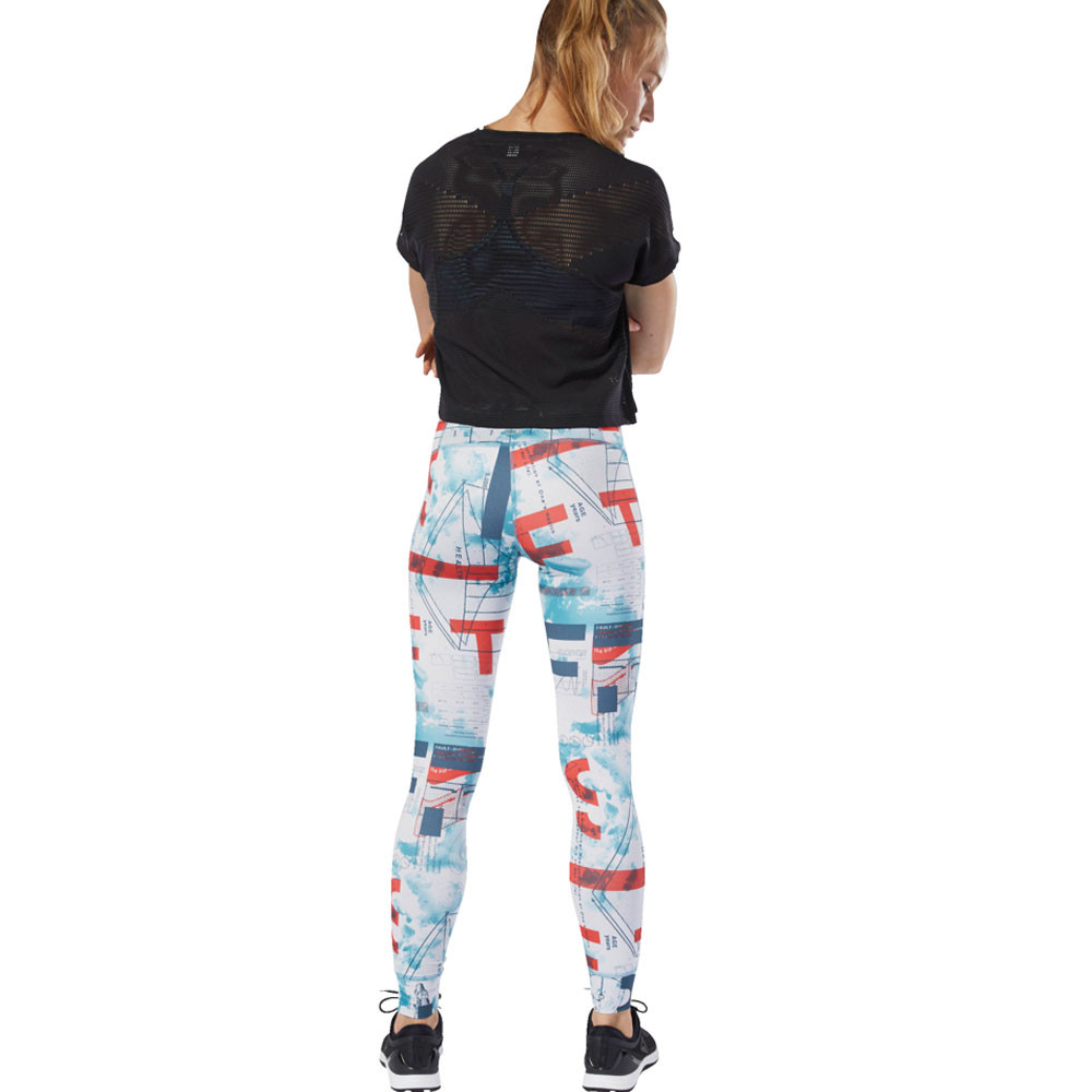 3e2a884098da Reebok Womens CrossFit Lux Science Training Gym Fitness Tights Bottoms Pants