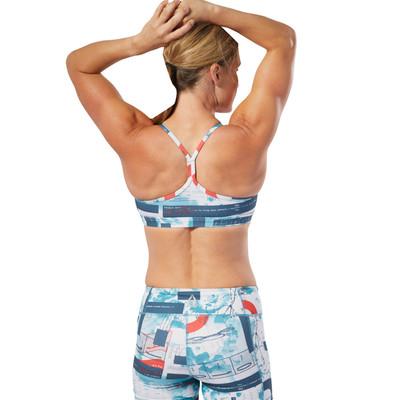 Reebok CrossFit Skinny Printed Bra