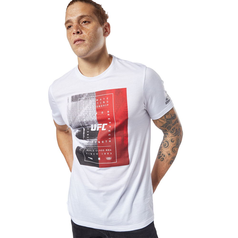 Reebok UFC FG Text T-Shirt - AW19