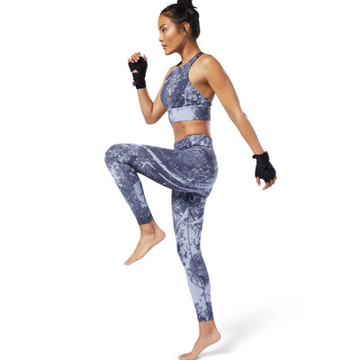 Reebok Combat Jacquard Lux Bold Women's Tights - AW19