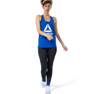 Reebok Workout Ready Supremium 2.0 Big Logo Women's Vest - AW19