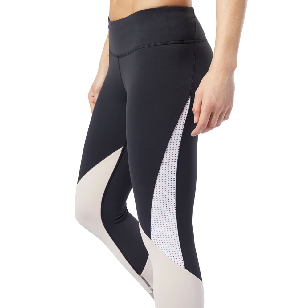 Détails sur Reebok Femmes Lux 2.0 34 Entraînement Gym Fitness Leggings Running Jogging Bas